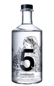 Gin 5 Continents (Bio), 70cl