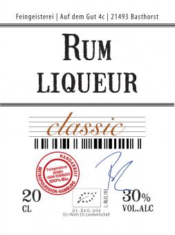 Rum liqueur classic (BIO), 20cl