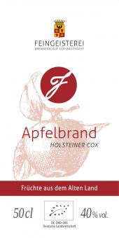Apfelbrand - Holsteiner Cox (BIO)